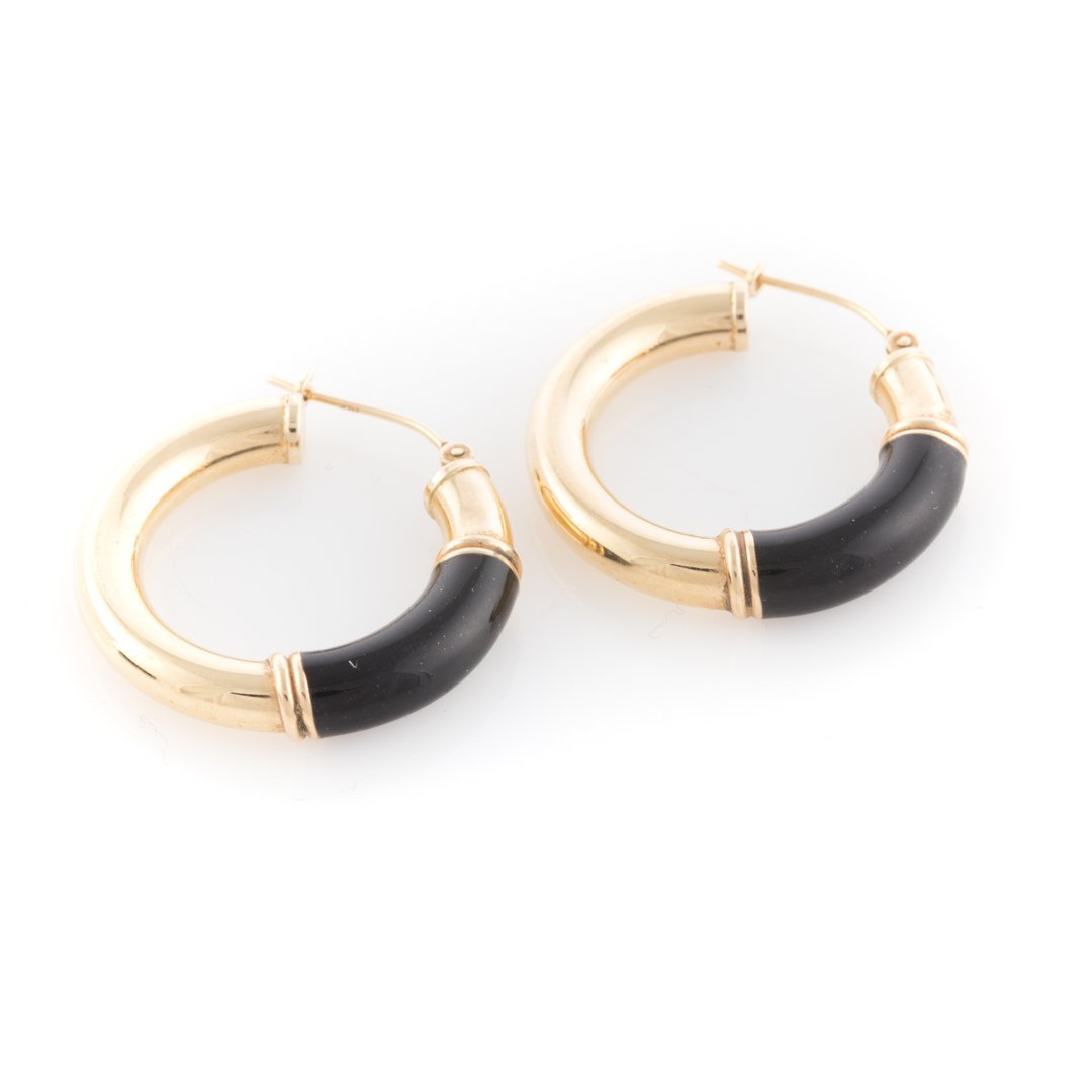 Two Pairs of Gold Earrings - 3