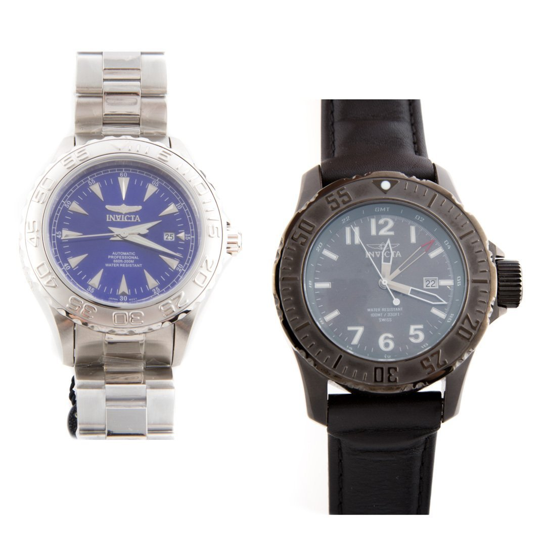 Two Gentlemen's Invicta Watches