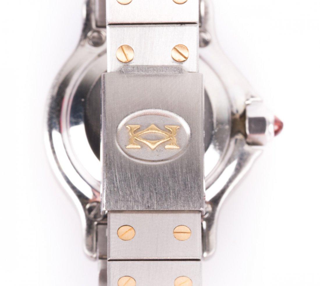 Lady's Cartier Santos Octagonal 18K & Stainless - 3