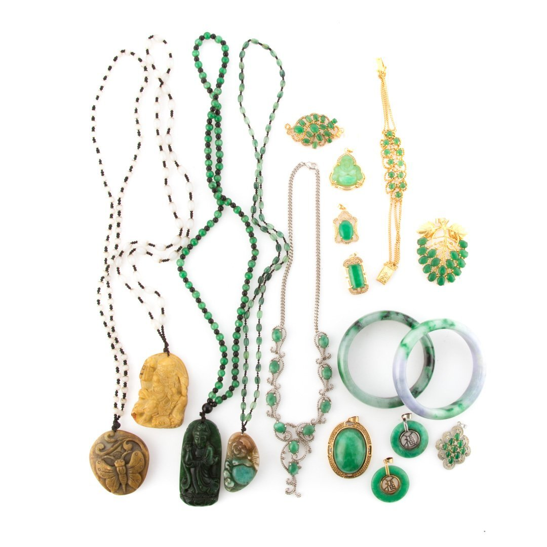 A Selection of Jade Jewelry