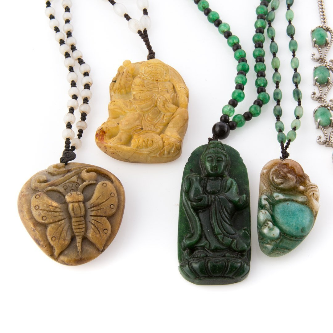 A Selection of Jade Jewelry - 2