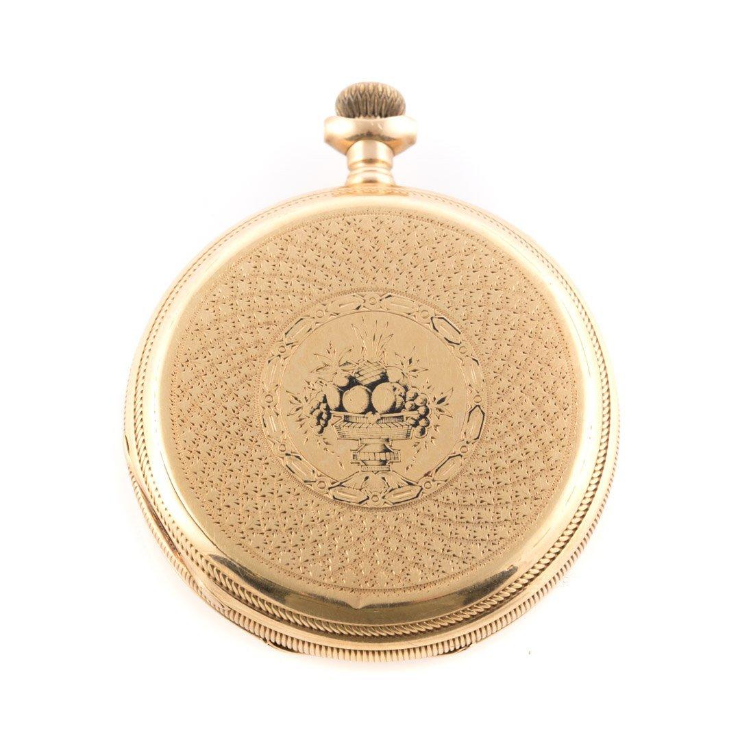 An 18K Gent's Waltham Pocket Watch