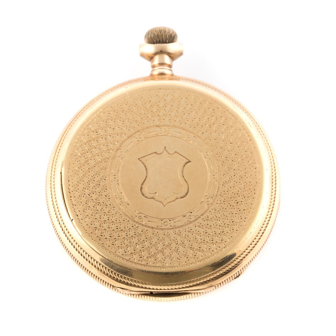 An 18K Gent's Waltham Pocket Watch - 2