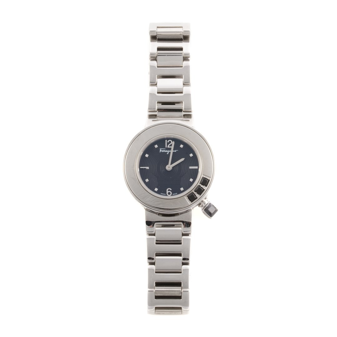 A Lady's Stainless Steel watch by Ferragamo