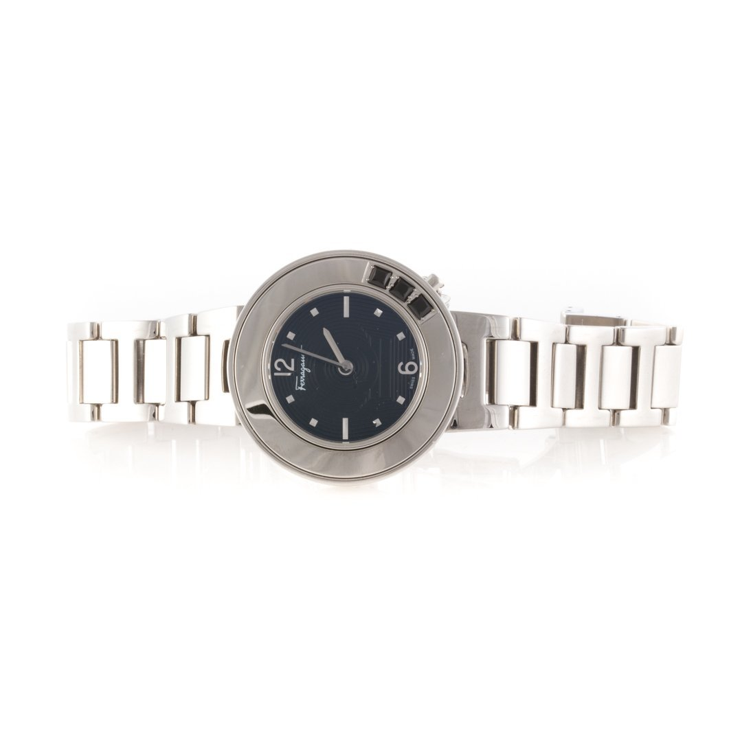 A Lady's Stainless Steel watch by Ferragamo - 2