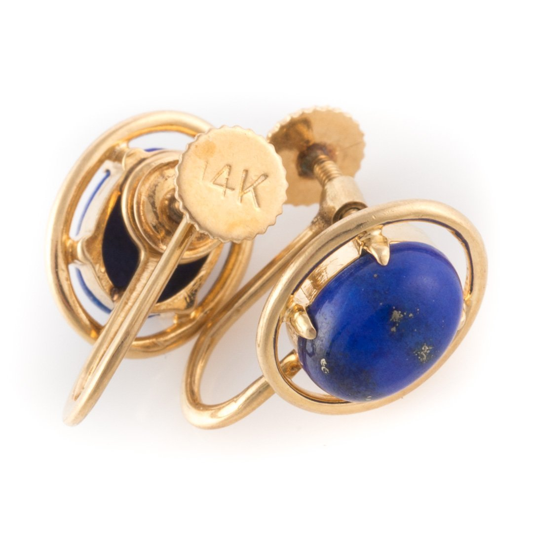Two Pair of Earrings in 14K Yellow Gold - 4