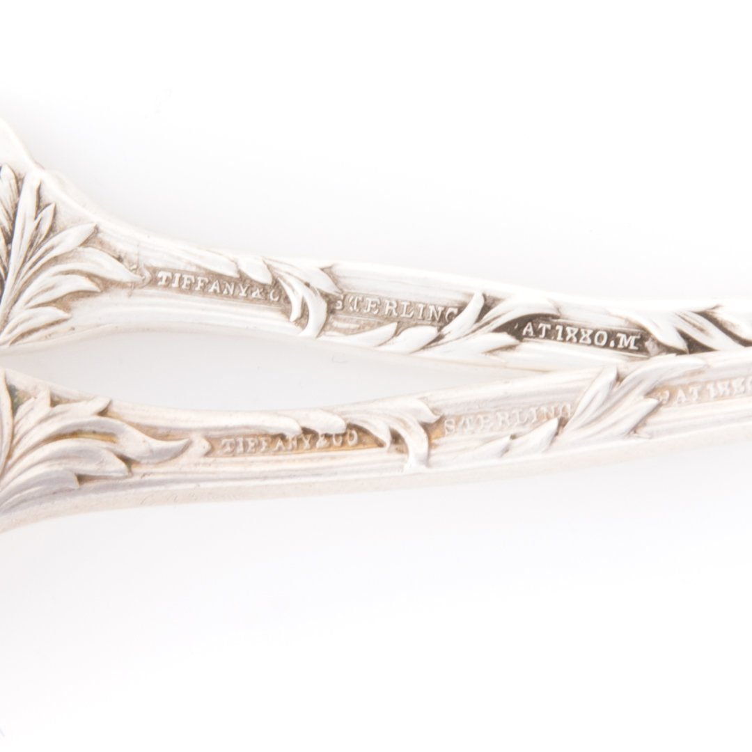 "Tiffany ""Chrysanthemum"" sterling flatware (4) - 4"