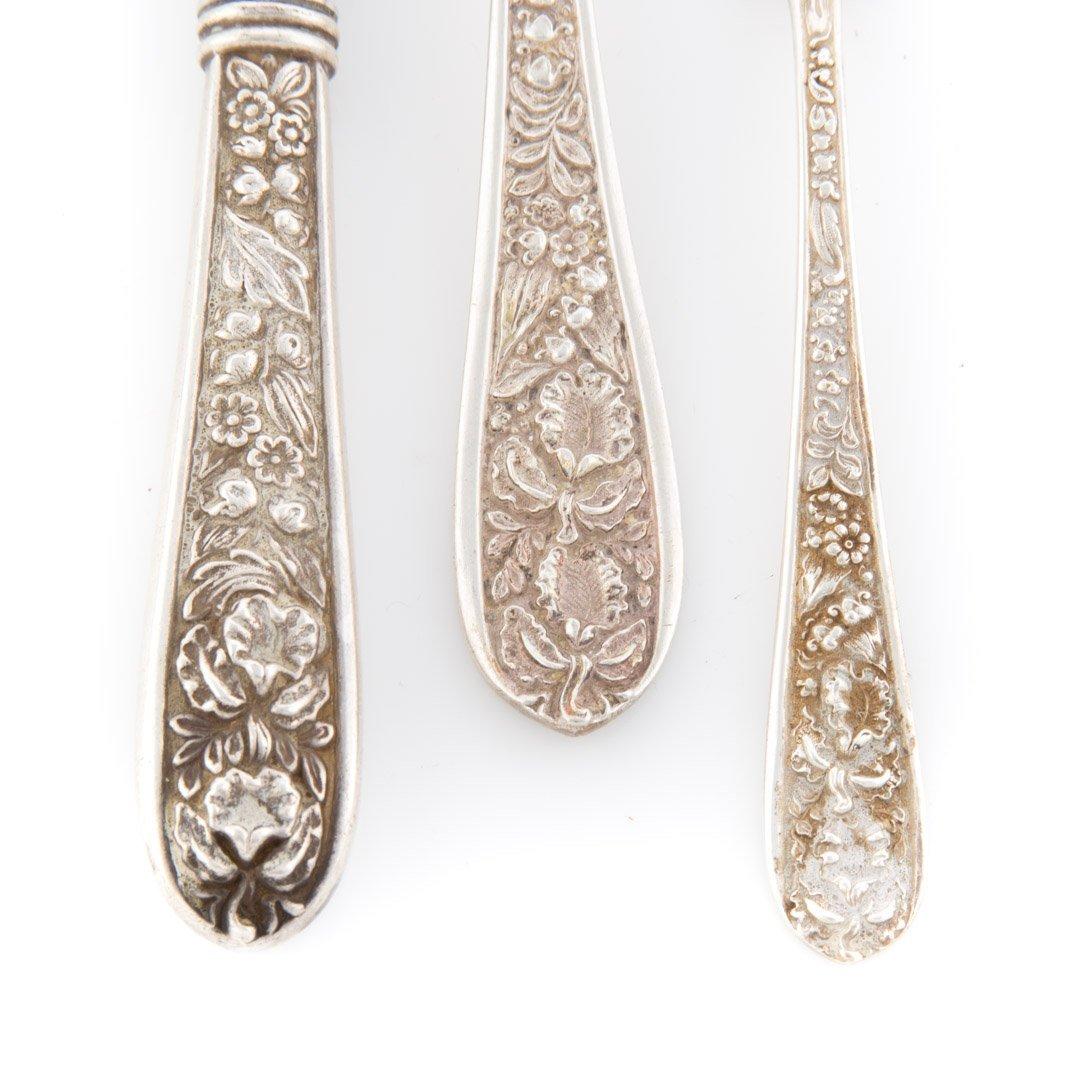 """Stieff """"Corsage"""" sterling silver flatware - 3"""