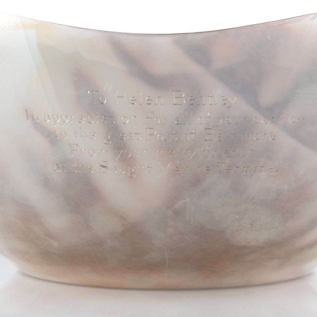 Tiffany & Co. sterling silver presentation bowl - 3