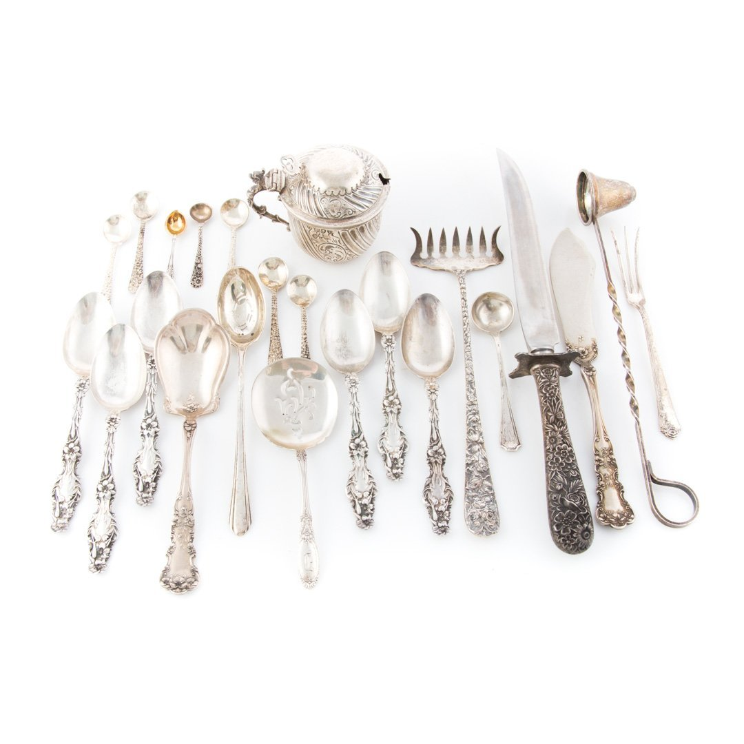 Stieff Schofield and other sterling flatware