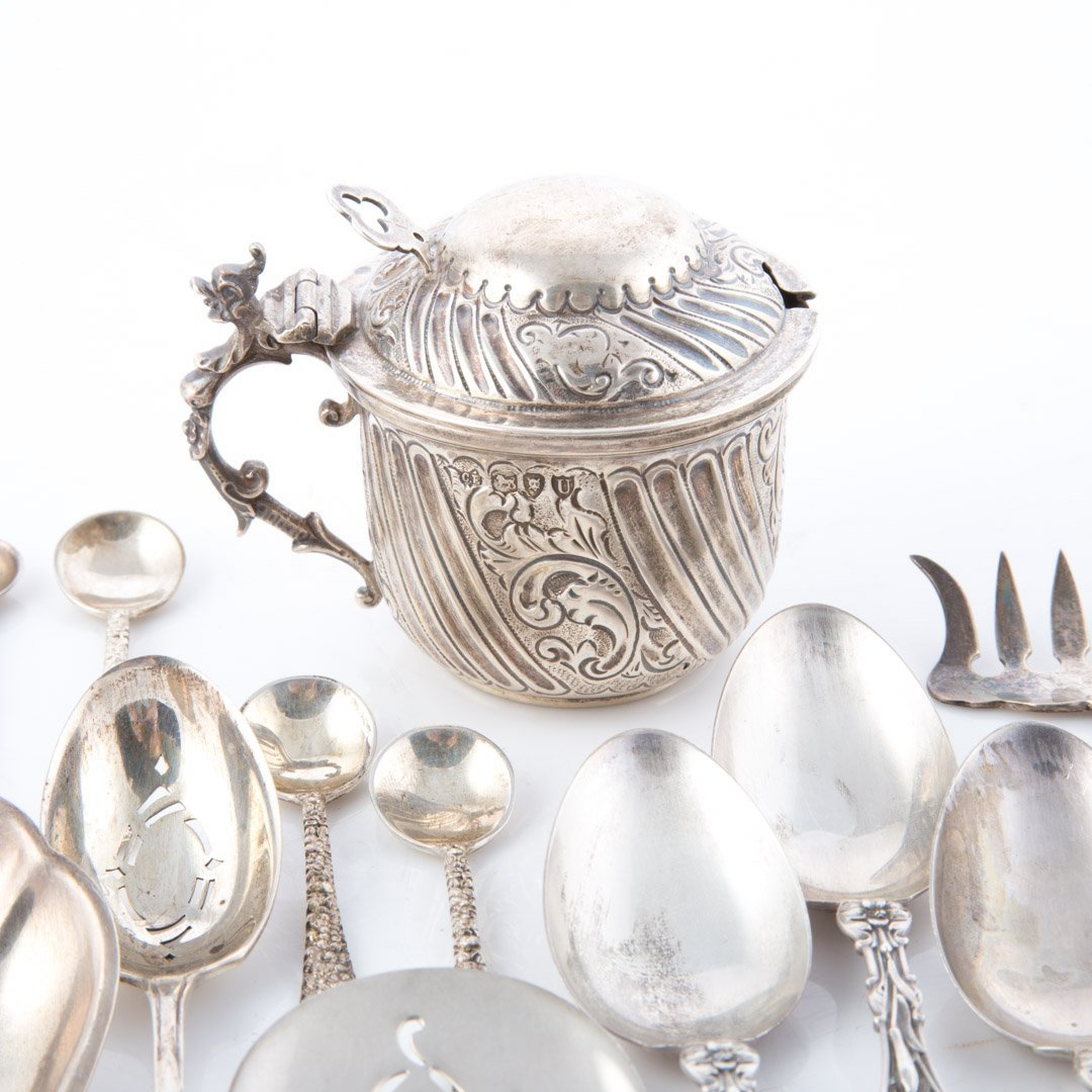 Stieff Schofield and other sterling flatware - 2