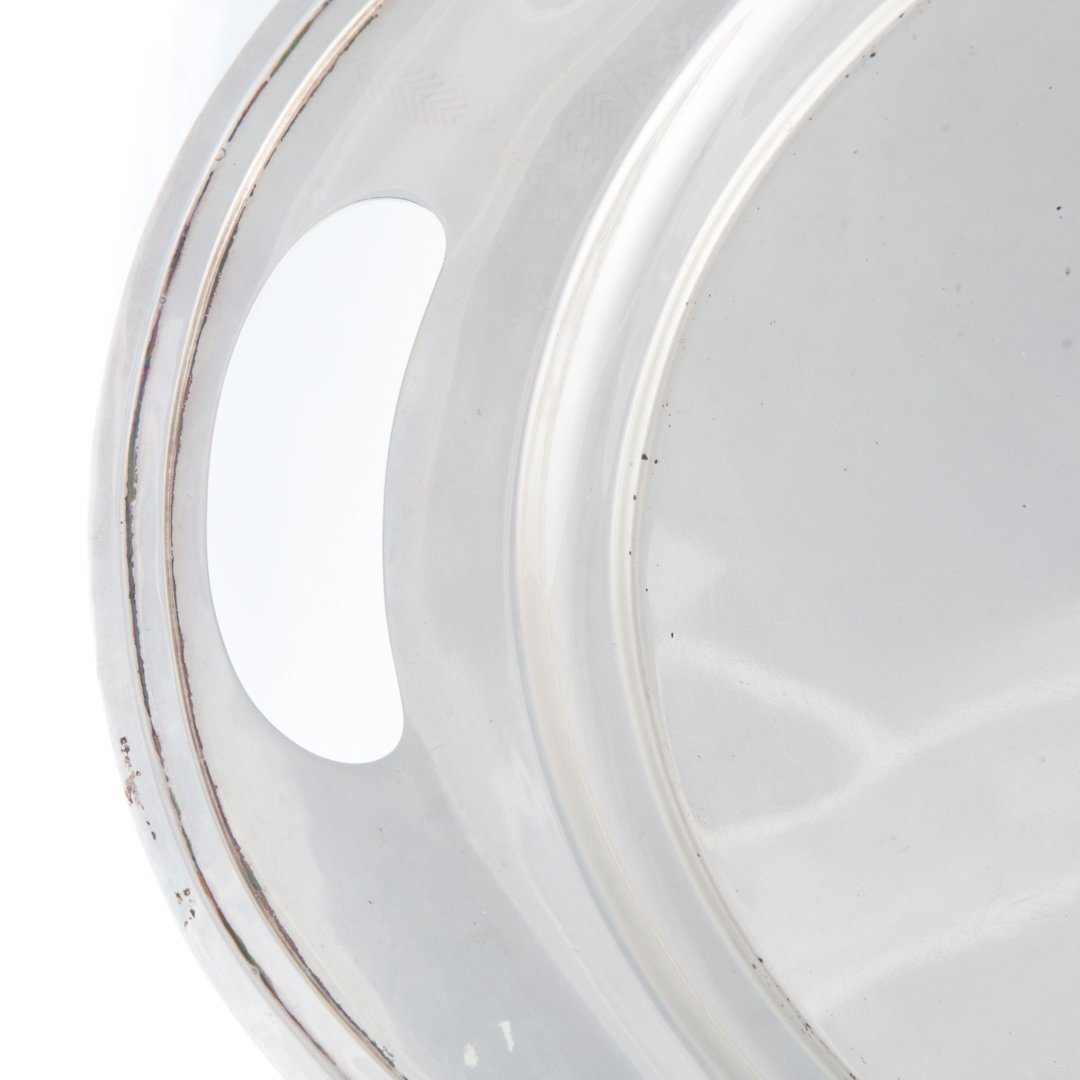"""Wallace """"The Washington"""" sterling silver oval tray - 3"""