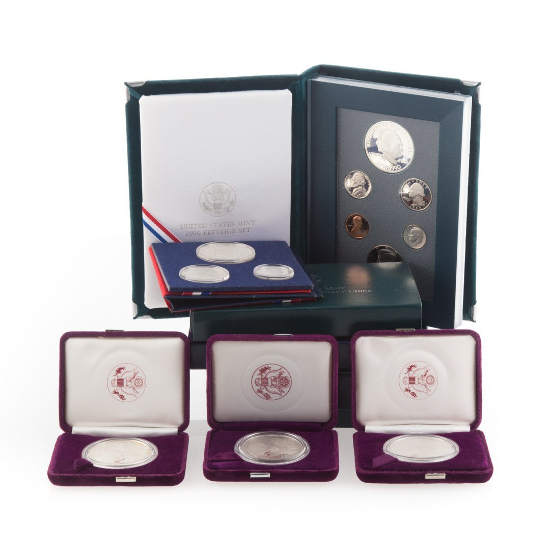 [US] Boxed Proof Coin Sets