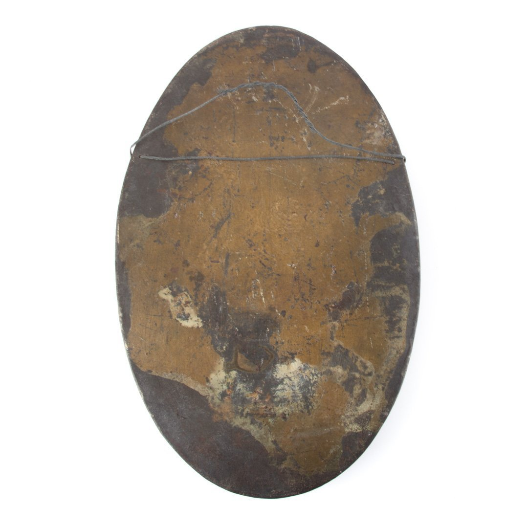 Cast iron plaque, 1908 - 4
