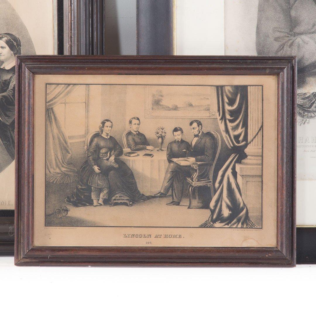 Three portrait prints - 2