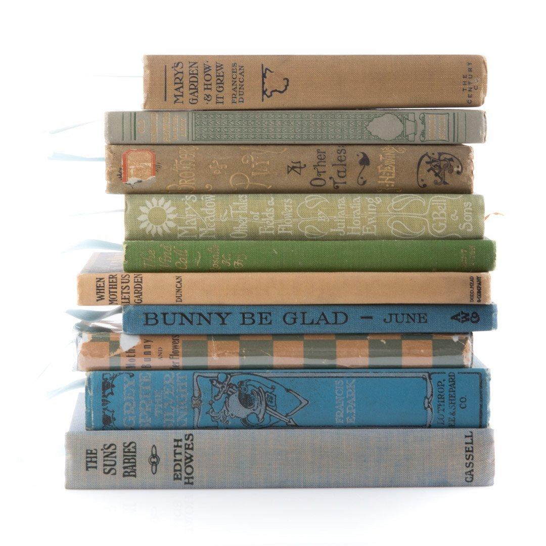 [Books] Gardens & fairies, seven titles