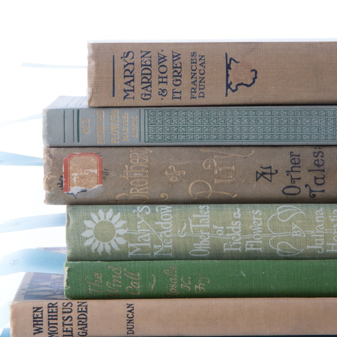 [Books] Gardens & fairies, seven titles - 2