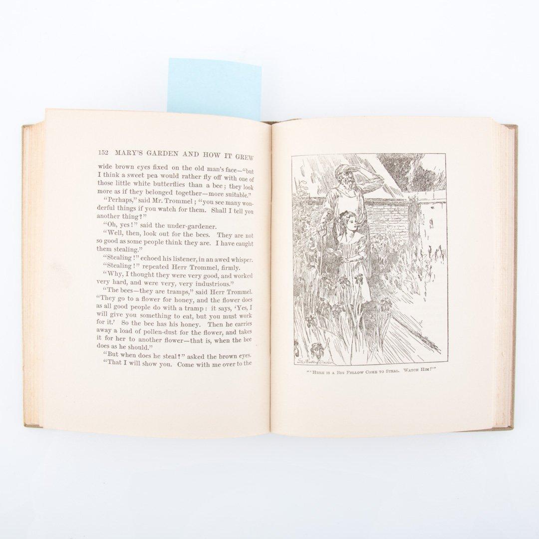 [Books] Gardens & fairies, seven titles - 7