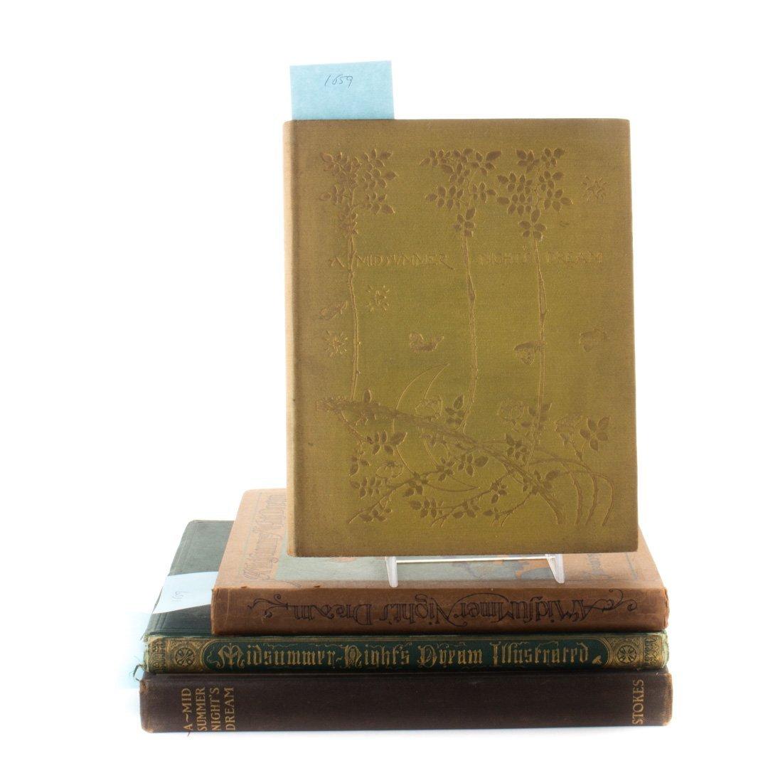 [Books] Four eds. Midsummer Night's Dream