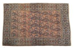 Antique Feraghan Sarouk rug, approx. 3.5 x 4.11