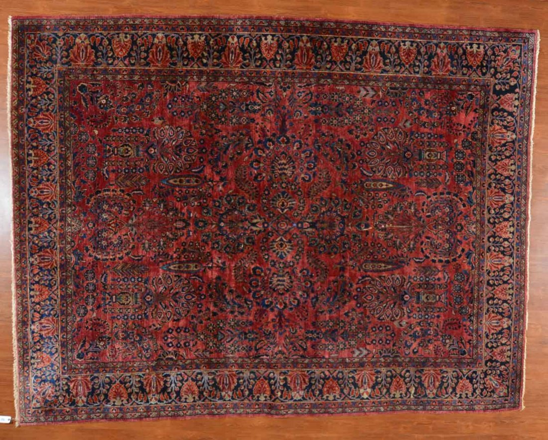 Antique Sarouk carpet, approx. 8.11 x 11.6