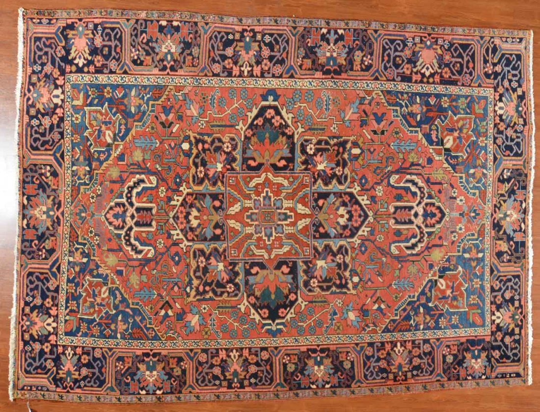 Antique Herez carpet, approx. 8.4 x 11