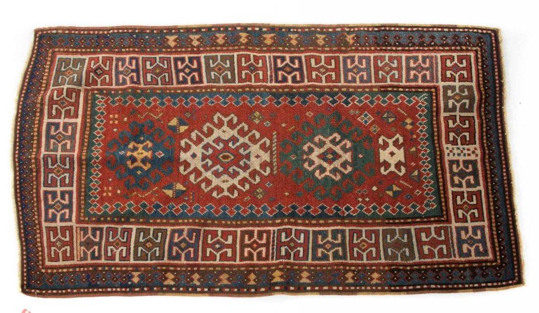 Antique Kazak rug, approx. 3.5 x 5.10