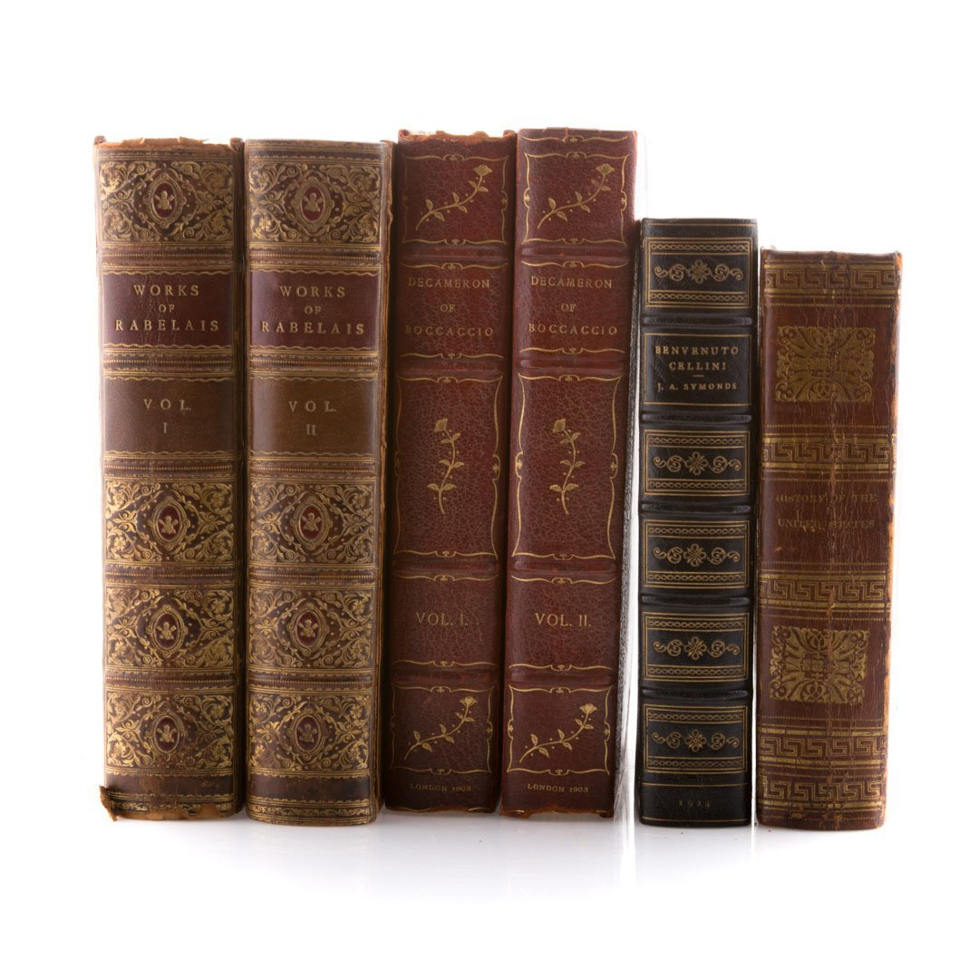 Books, Leather, History