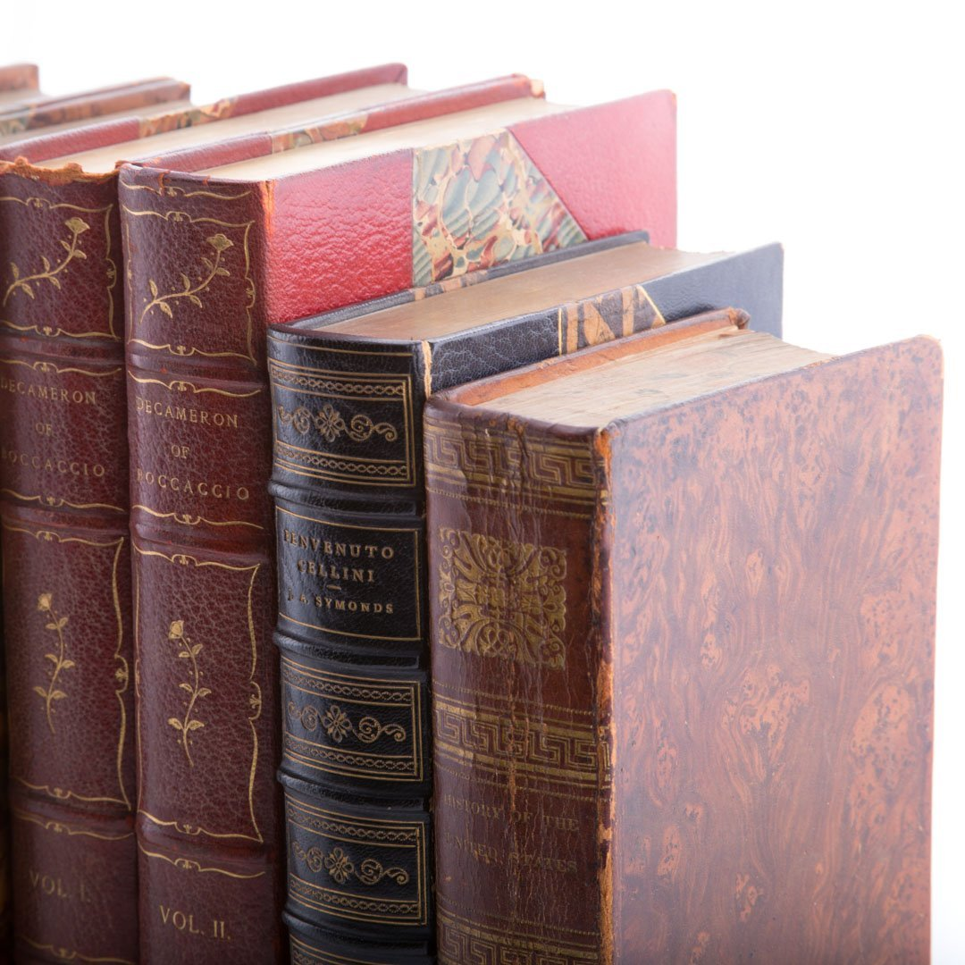 Books, Leather, History - 2