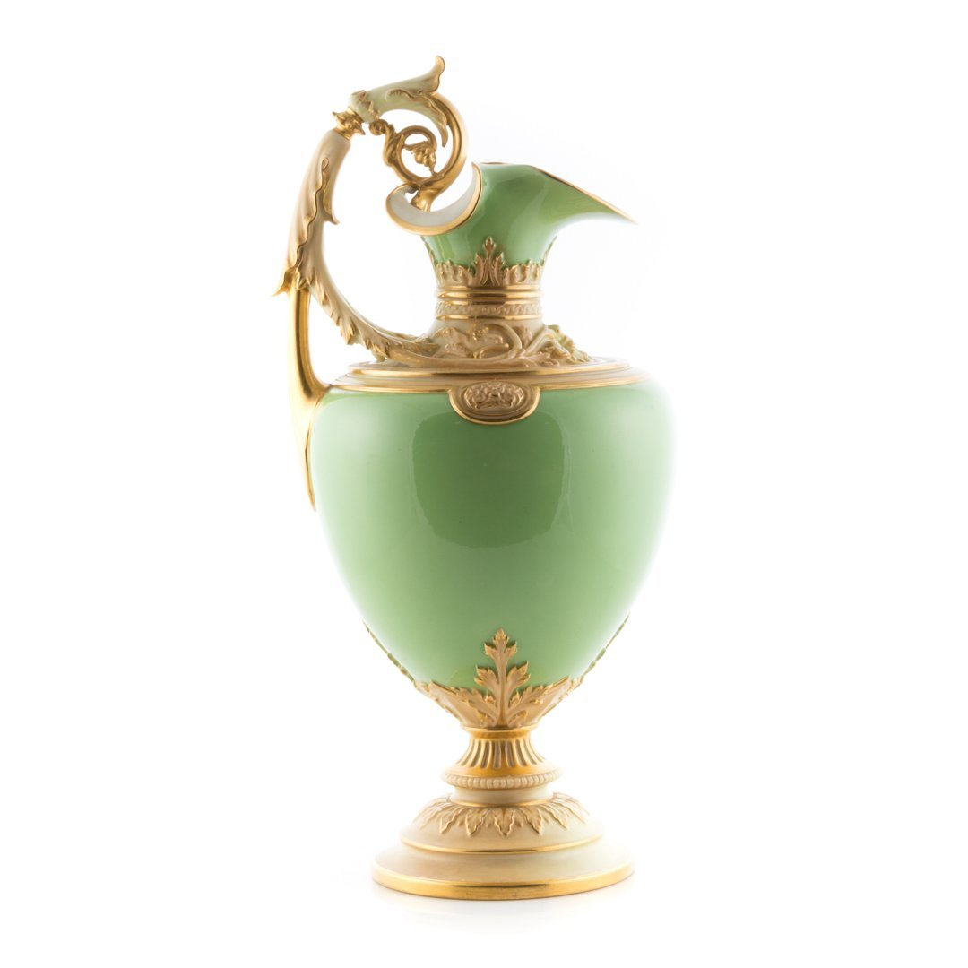 Royal Worcester Classical style ewer