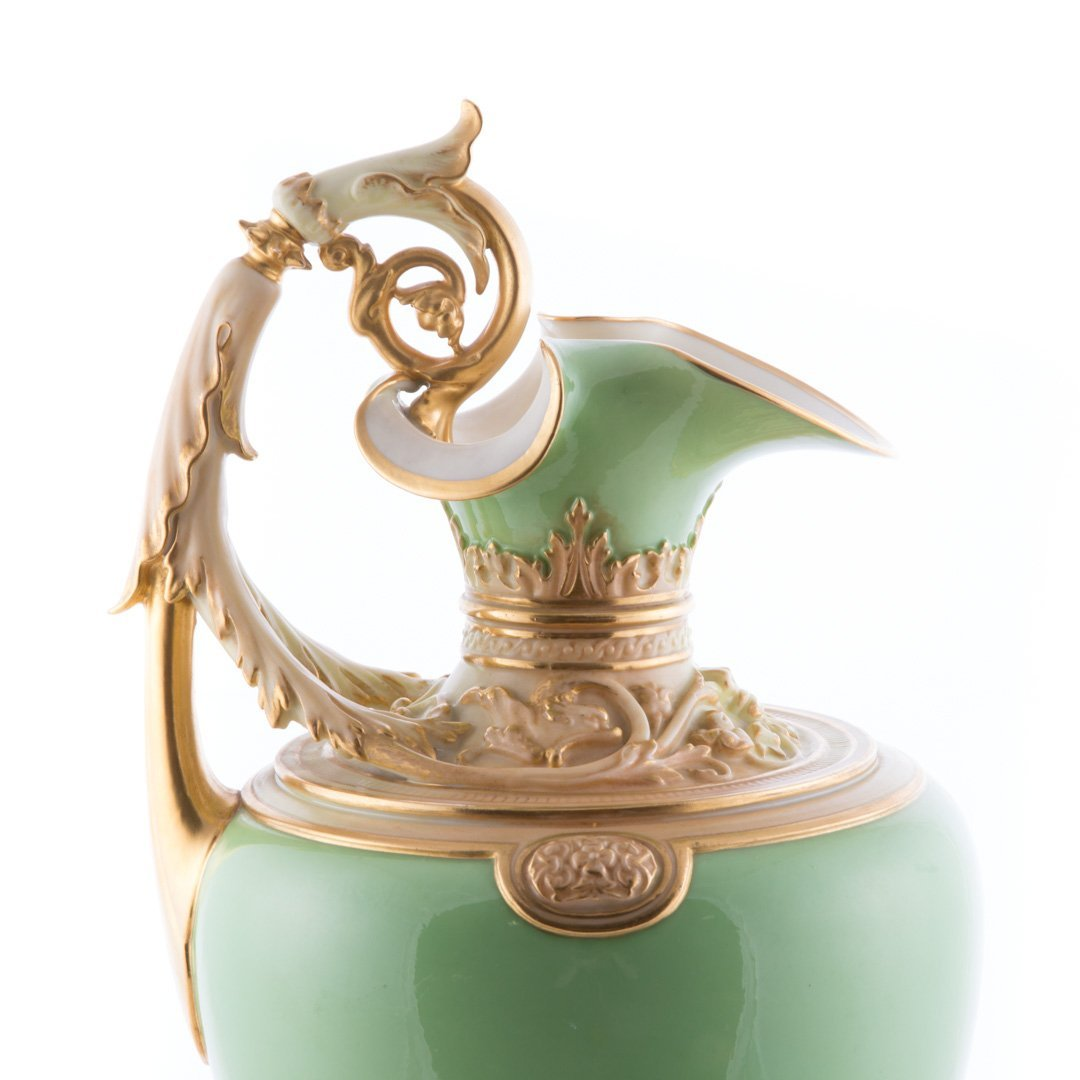 Royal Worcester Classical style ewer - 5