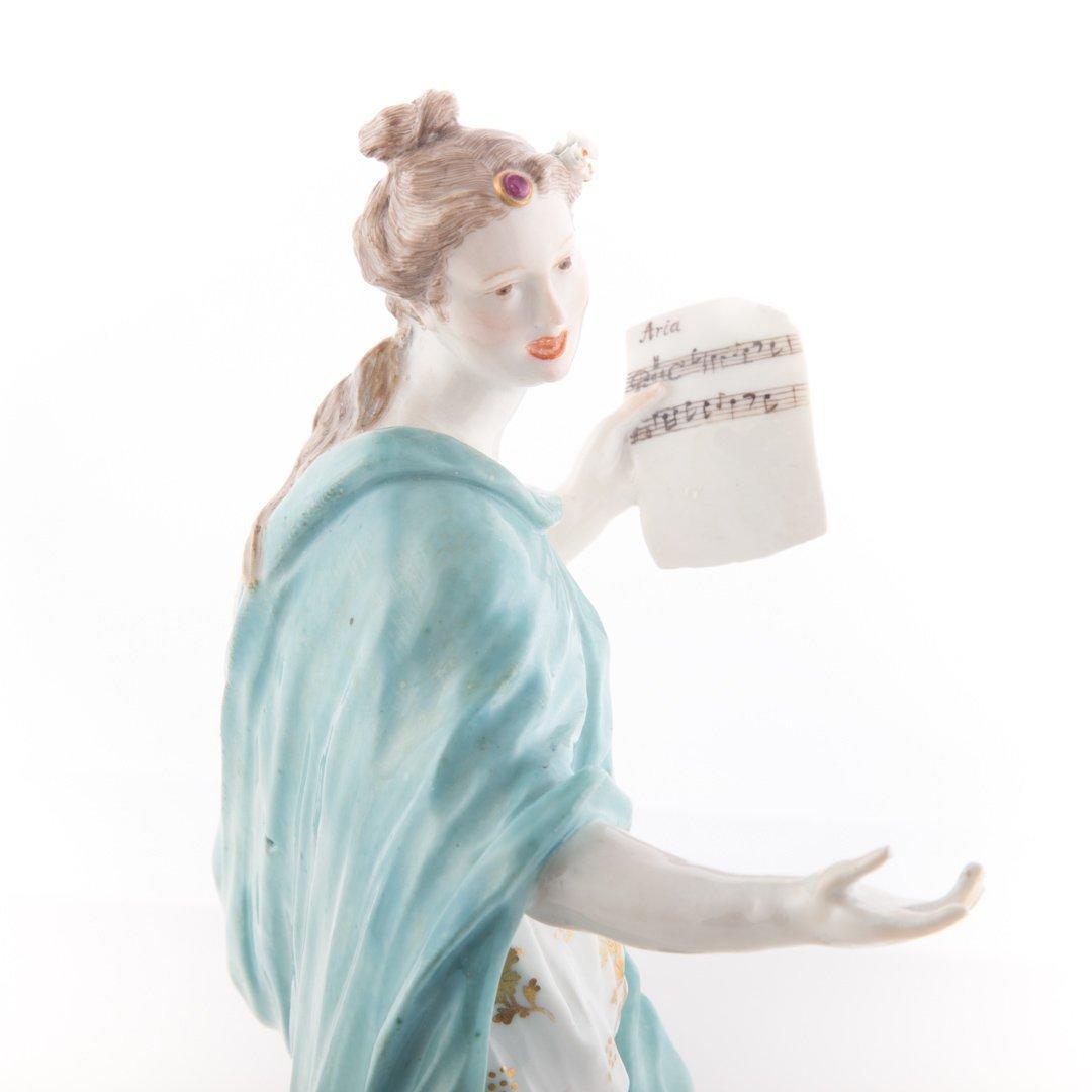 German porcelain figure: Melpomene - 2