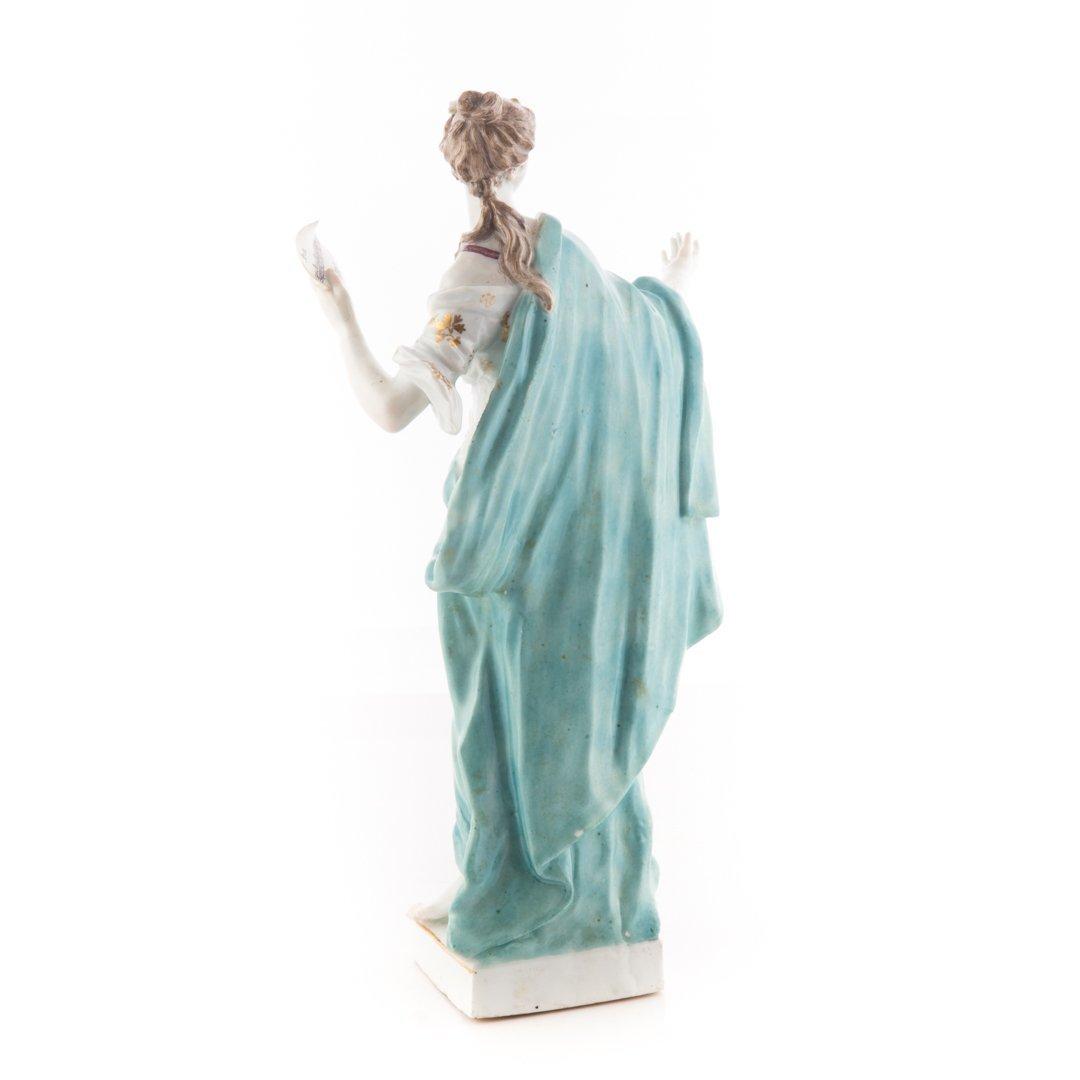 German porcelain figure: Melpomene - 3
