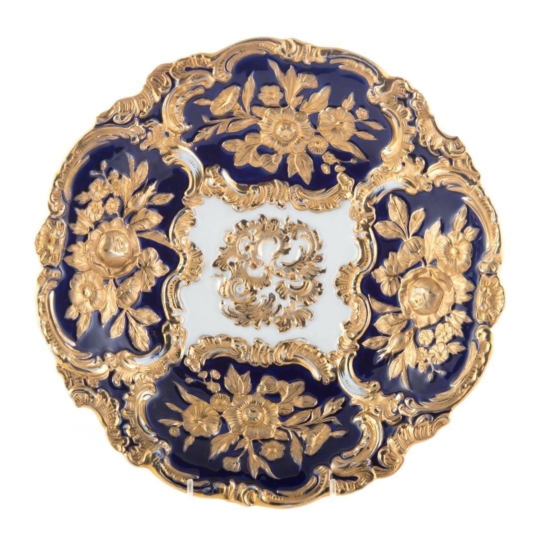 14 Meissen porcelain table articles - 2