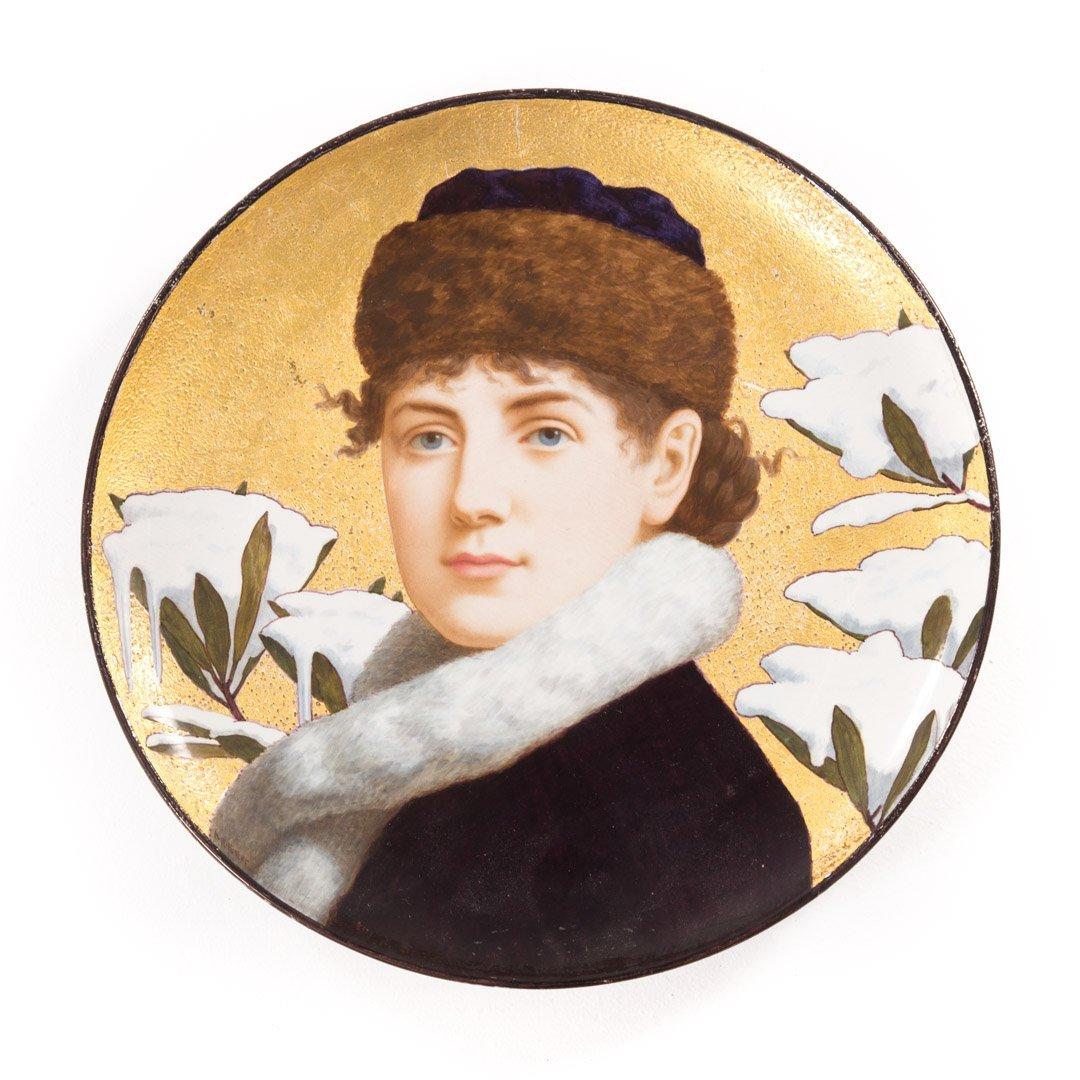 Minton china portrait charger