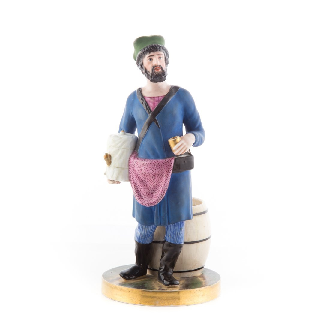 Imperial Russian porcelain figure