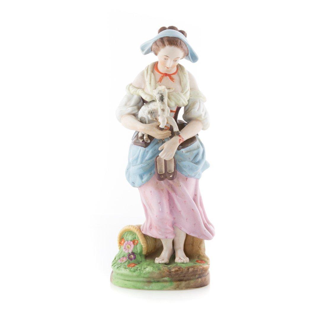Gardner Imperial Russian porcelain figure