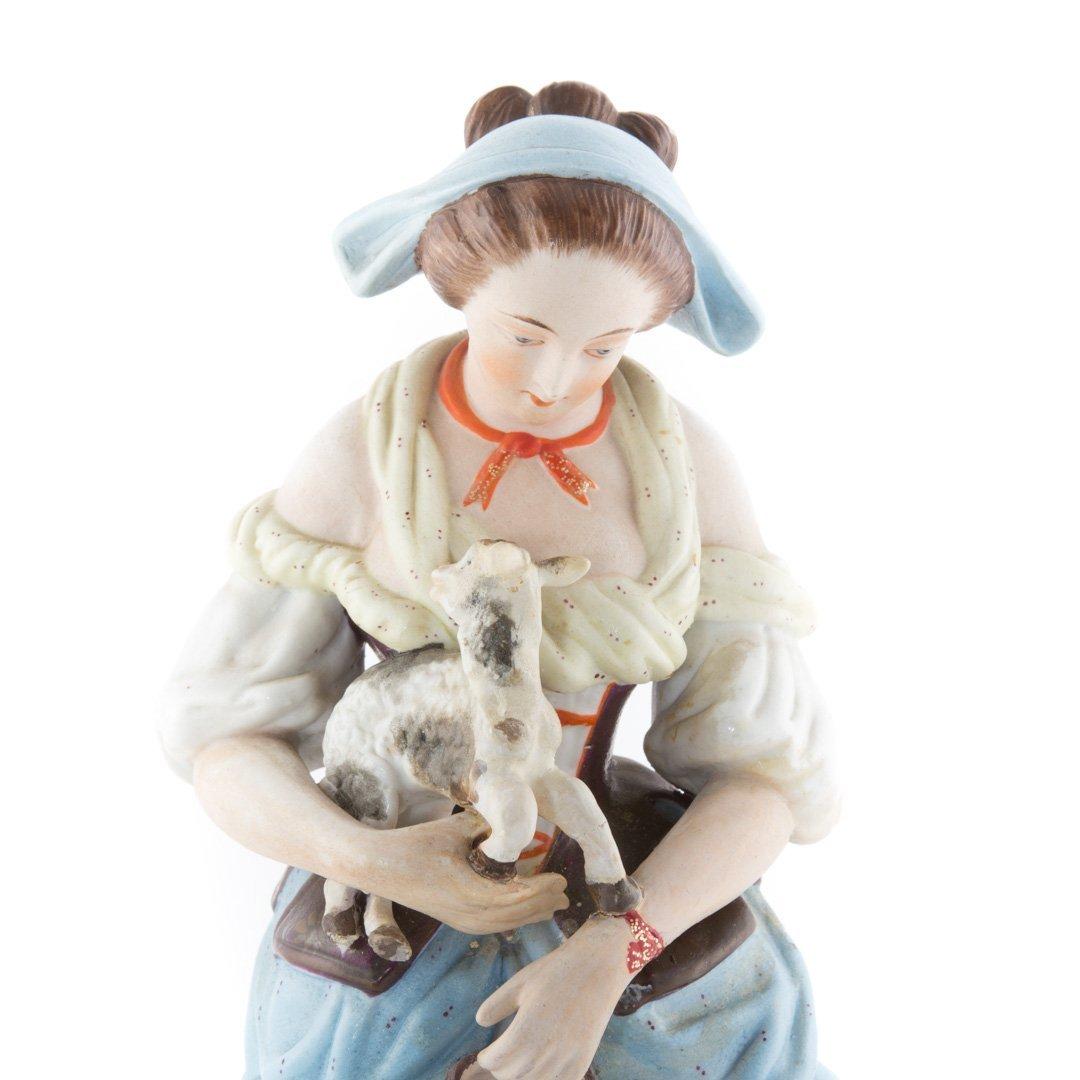 Gardner Imperial Russian porcelain figure - 4