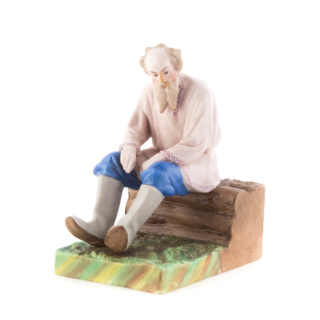 Imperial Russian porcelain figure