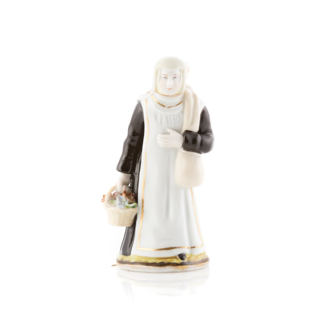 Russian Imperial porcelain figure