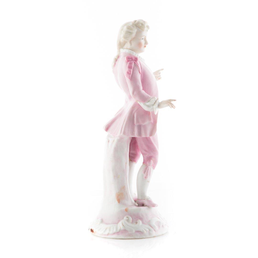 Sitzendorf porcelain figure of a Rococo gentleman - 2