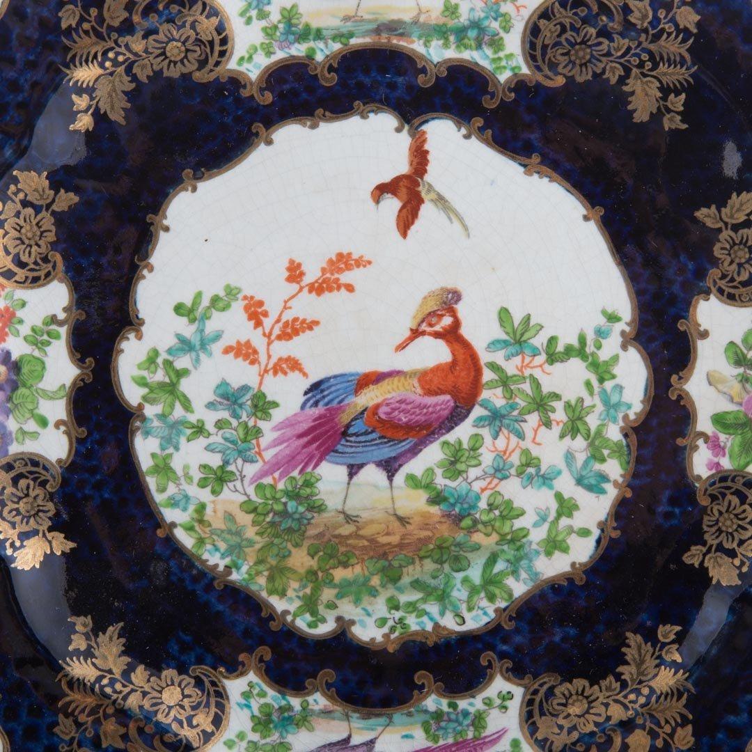 Six English china table articles - 4