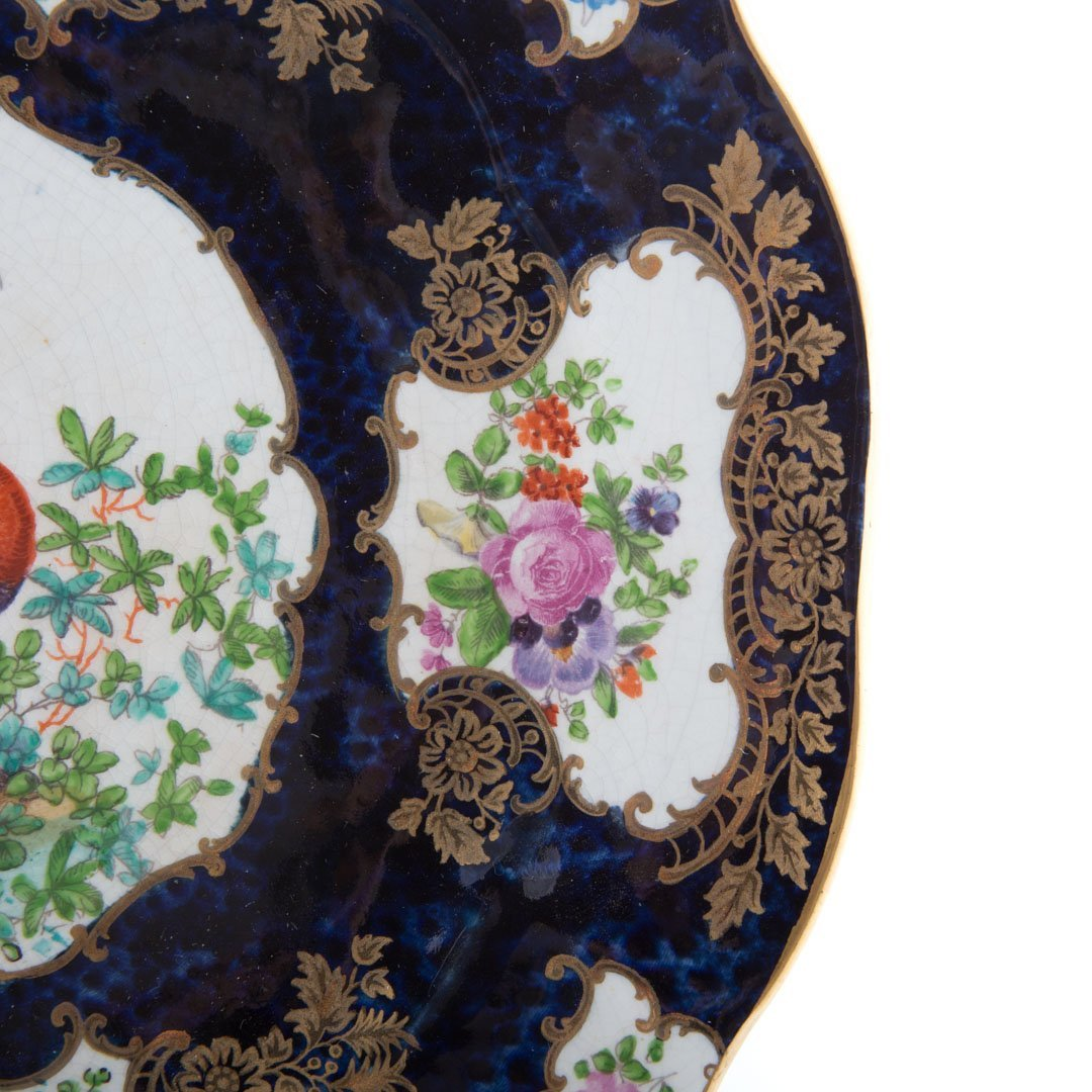 Six English china table articles - 5