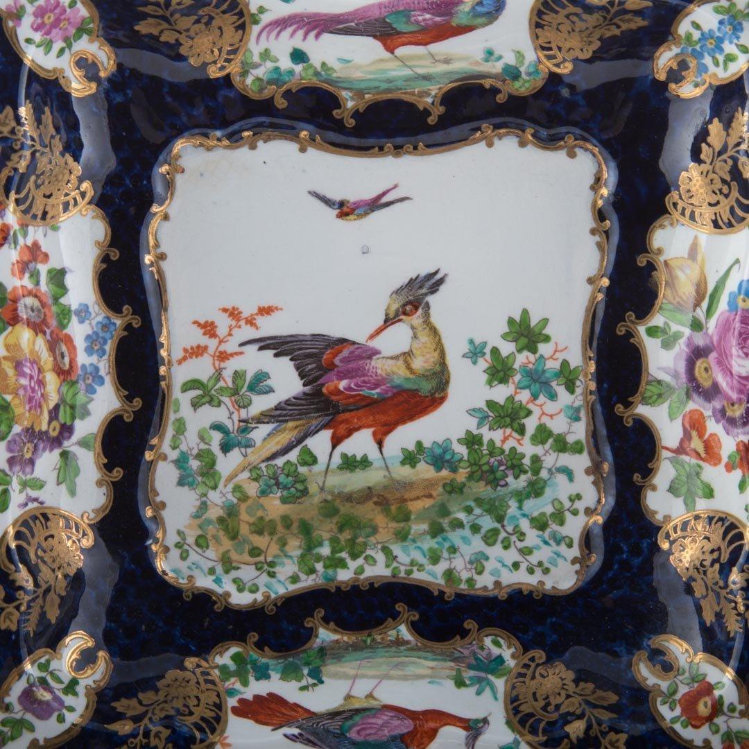 Six English china table articles - 6