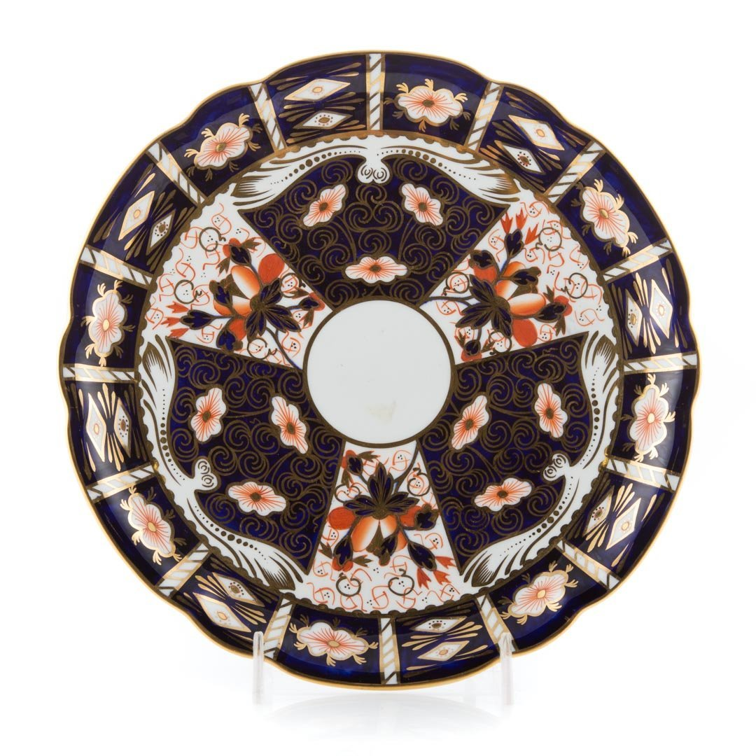 12 Royal Crown Derby Old Japan luncheon plates - 2