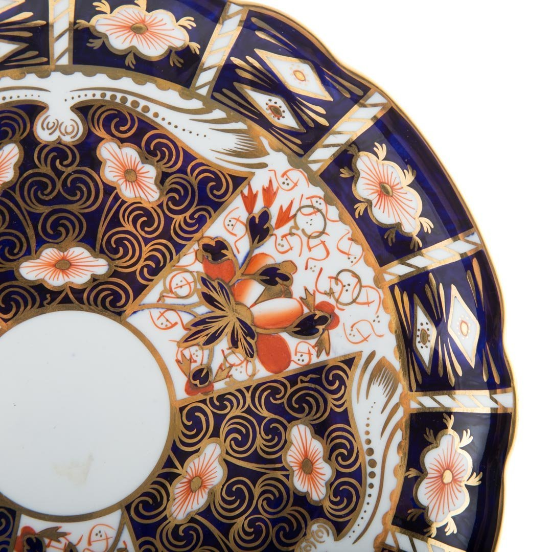 12 Royal Crown Derby Old Japan luncheon plates - 3