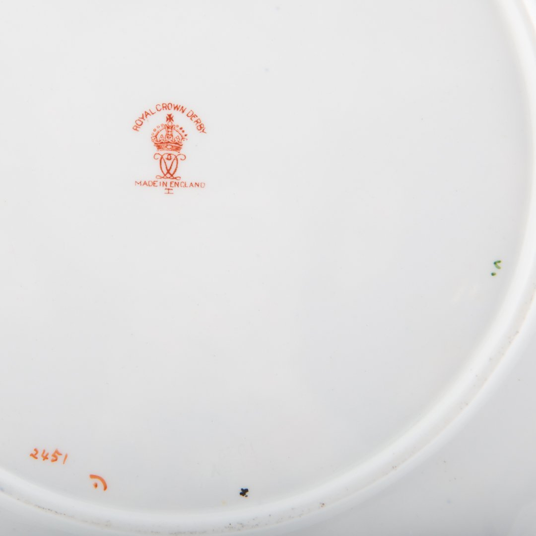 12 Royal Crown Derby Old Japan luncheon plates - 5