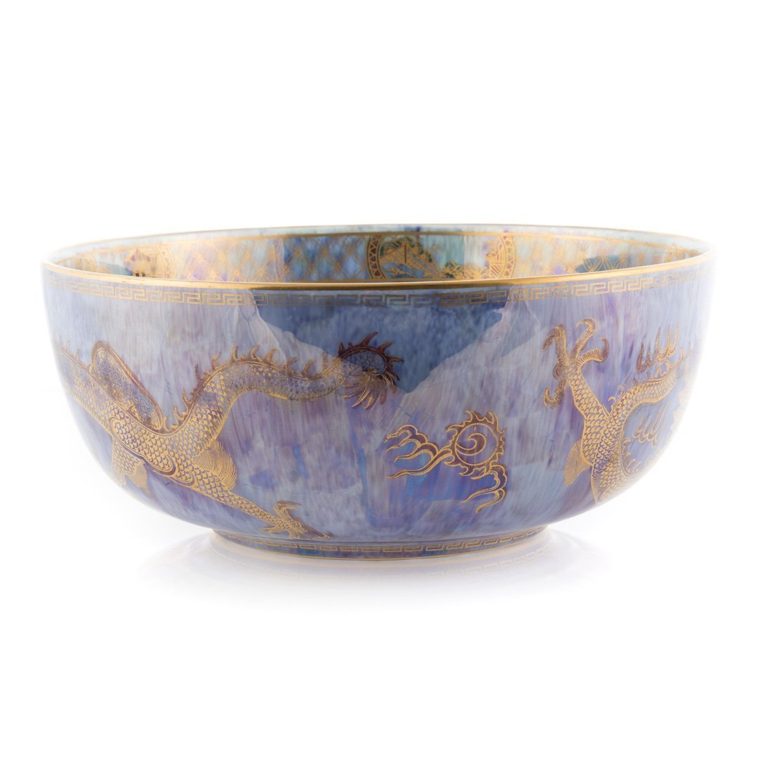 Wedgwood dragon lustre bowl - 2