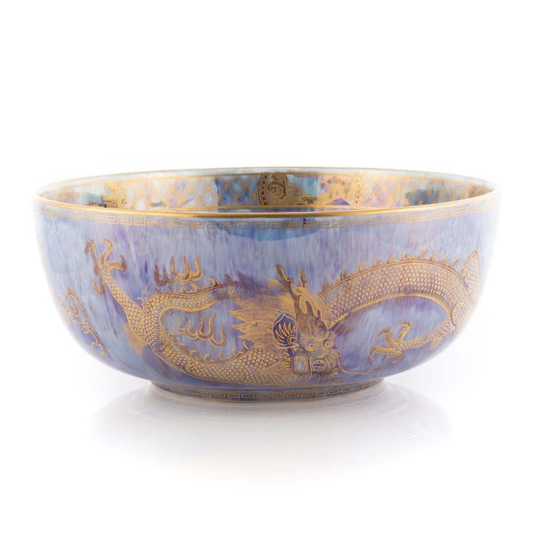 Wedgwood dragon lustre bowl - 3
