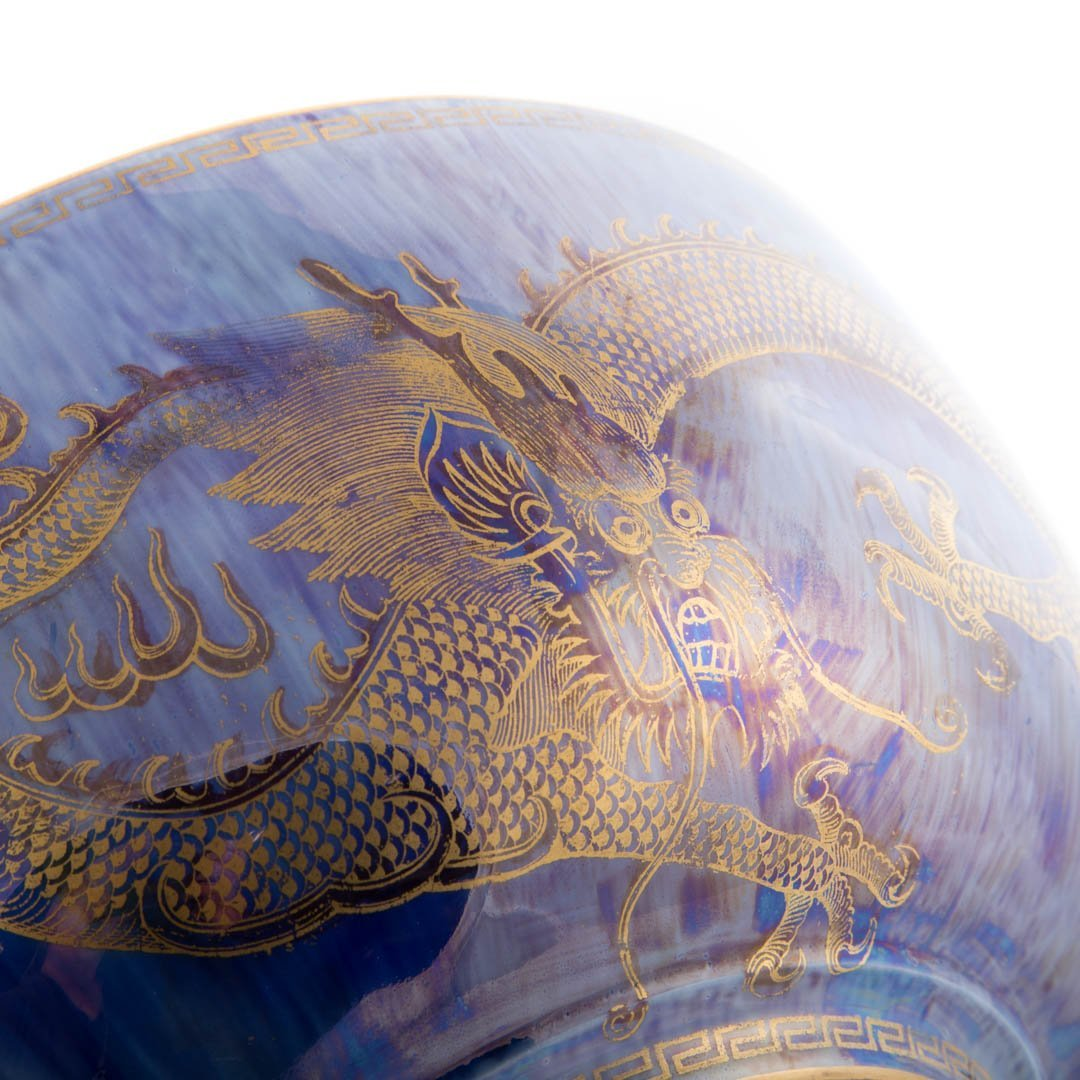 Wedgwood dragon lustre bowl - 4